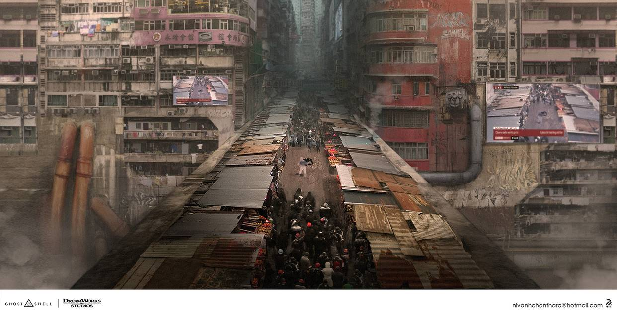 Ghost In The Shell Concept Art By Duster132 Db4ul2x Pre Artly