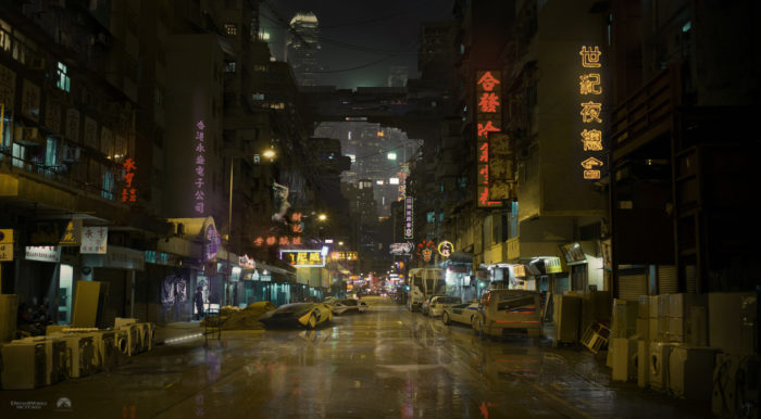 Futuristic Ghost In The Shell Concept Art You Could Use As Wallpapers