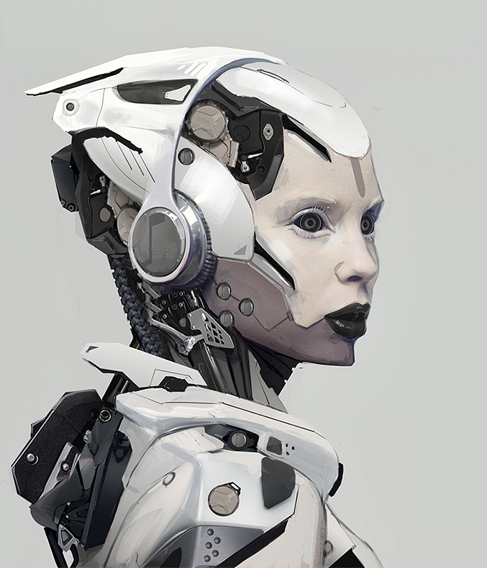 Robot Concept Art And The Many Futuristic Examples That