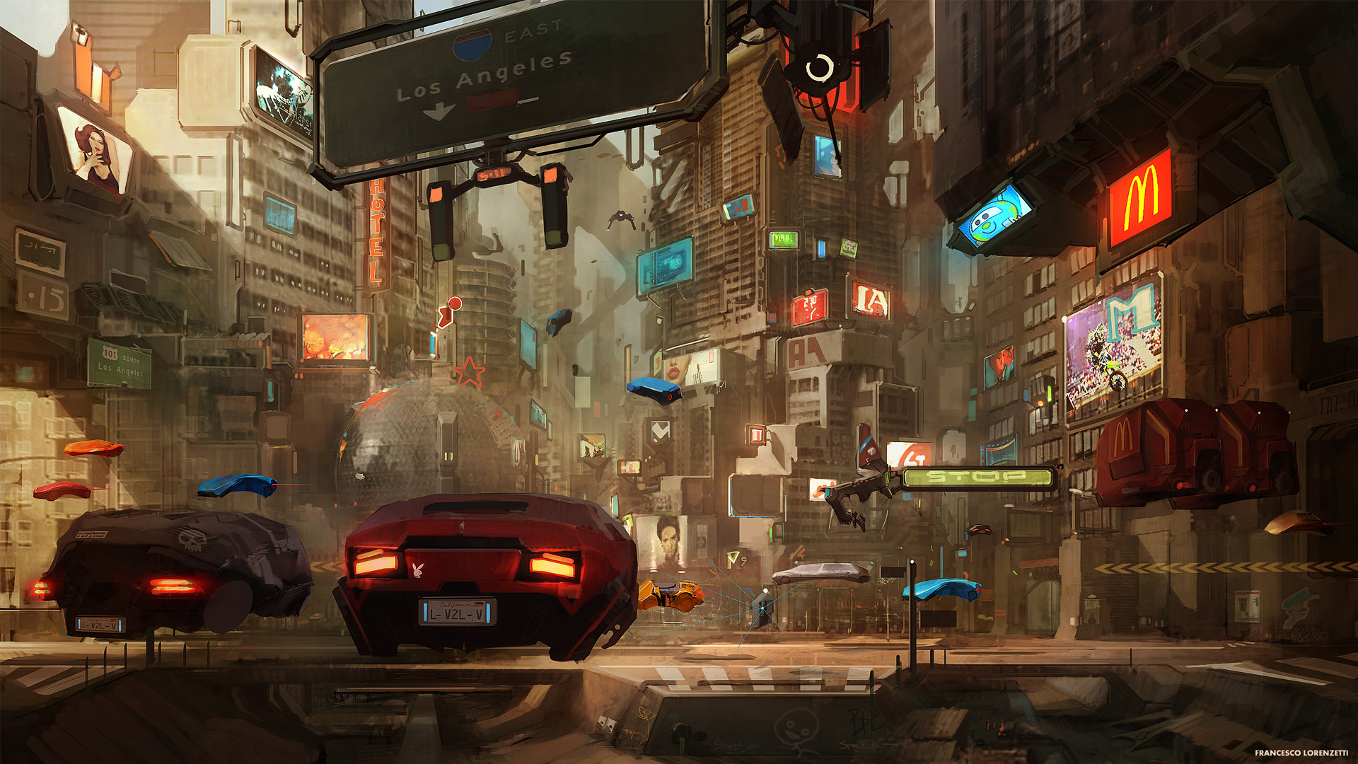Cyberpunk Art Examples Of Sci Fi City Illustrations And Awesome Characters