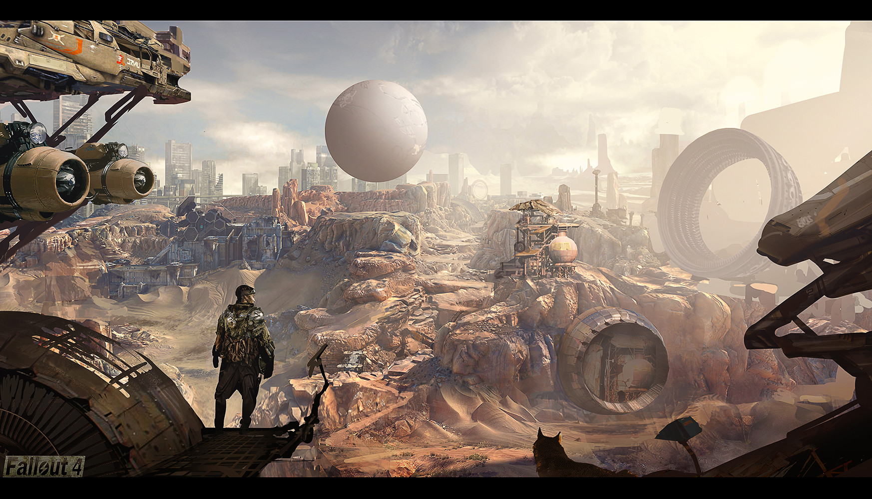 Concept Art Fallout 4 Artwork