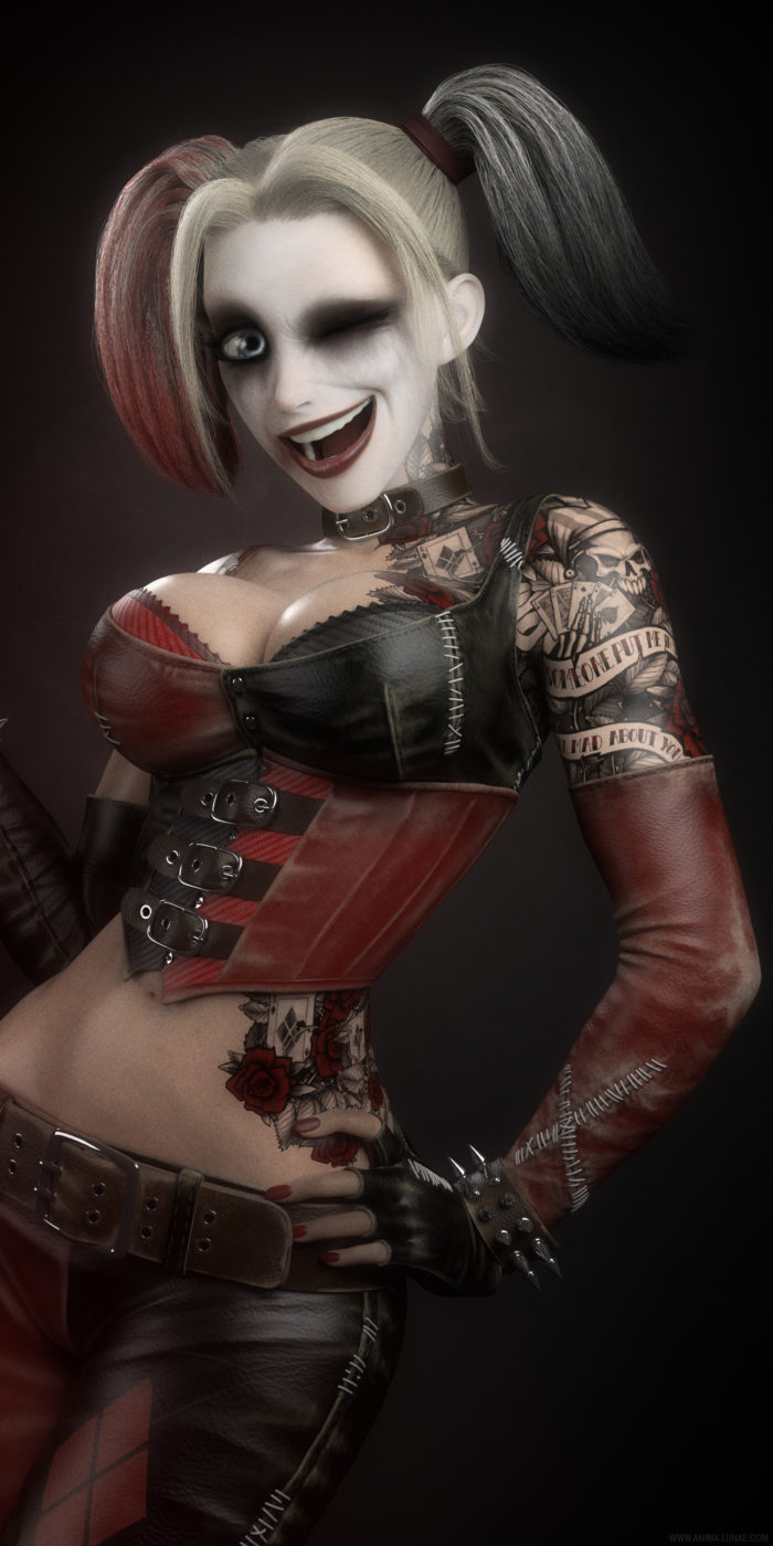 Crazy Awesome Harley Quinn Fan Art Images You Should Check Out