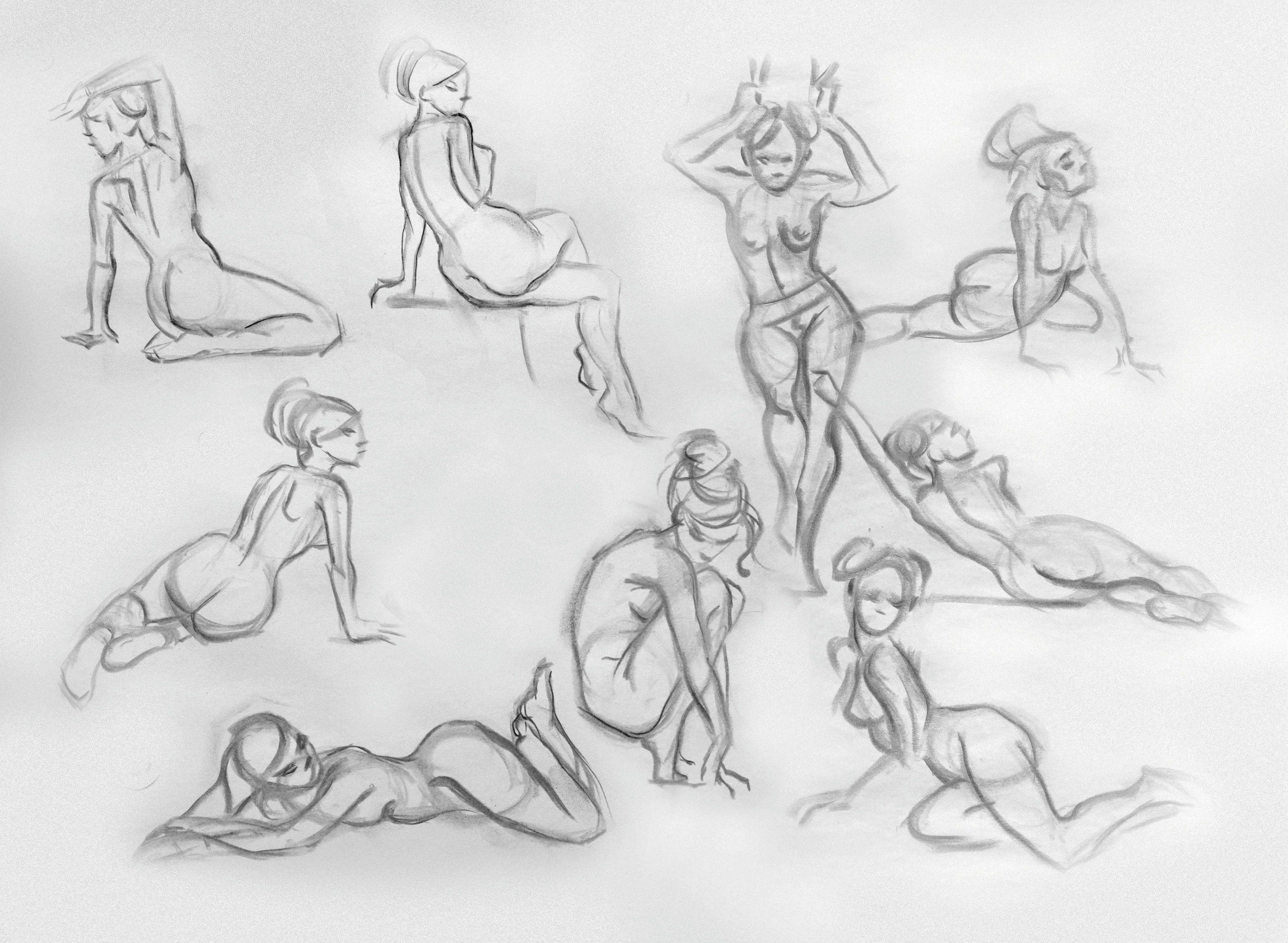 8abfcfb626d7f74f36ef3a2359da5405 How to draw poses better (male and female poses for beginners)