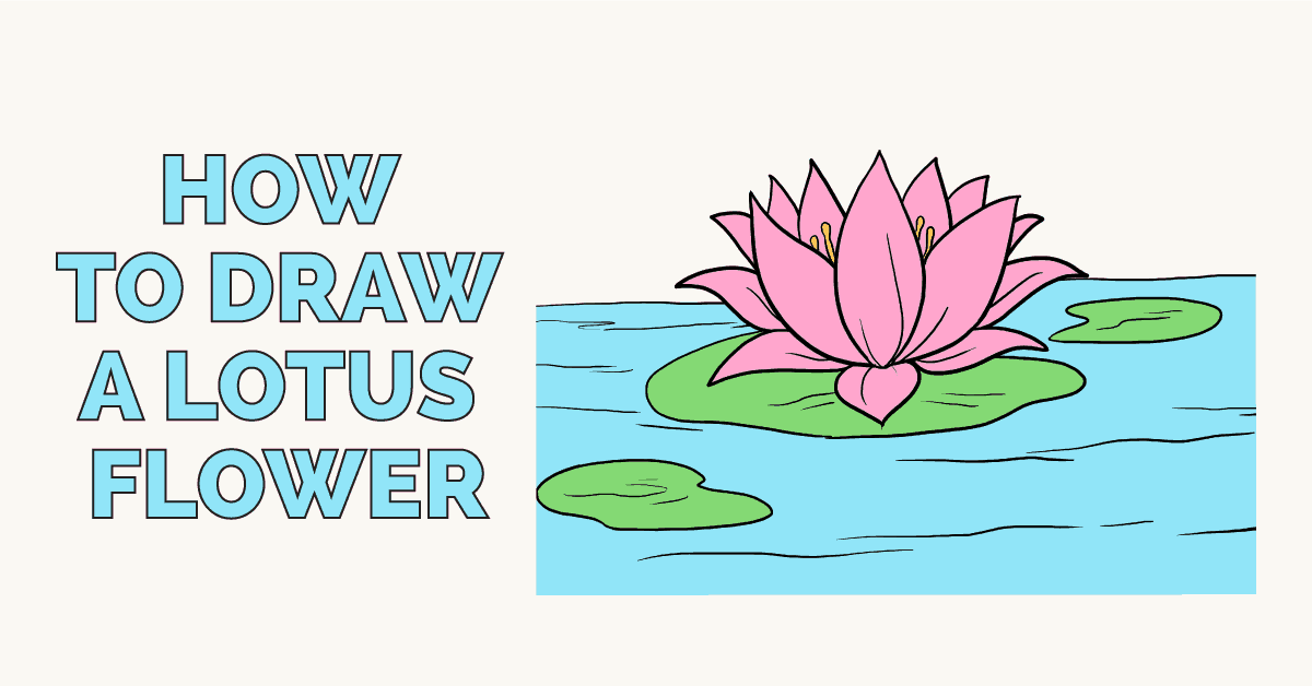 How To Draw A Flower With These Easy Step By Step Tutorials