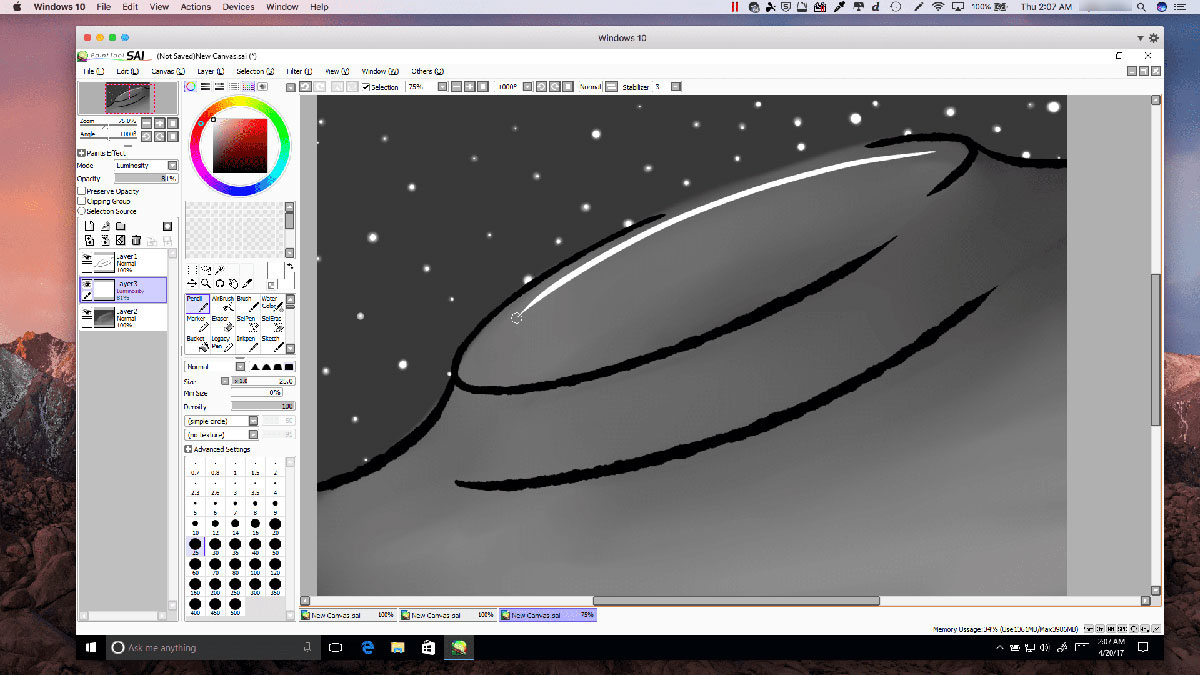Download these Paint Tool SAI Brushes with a few simple clicks