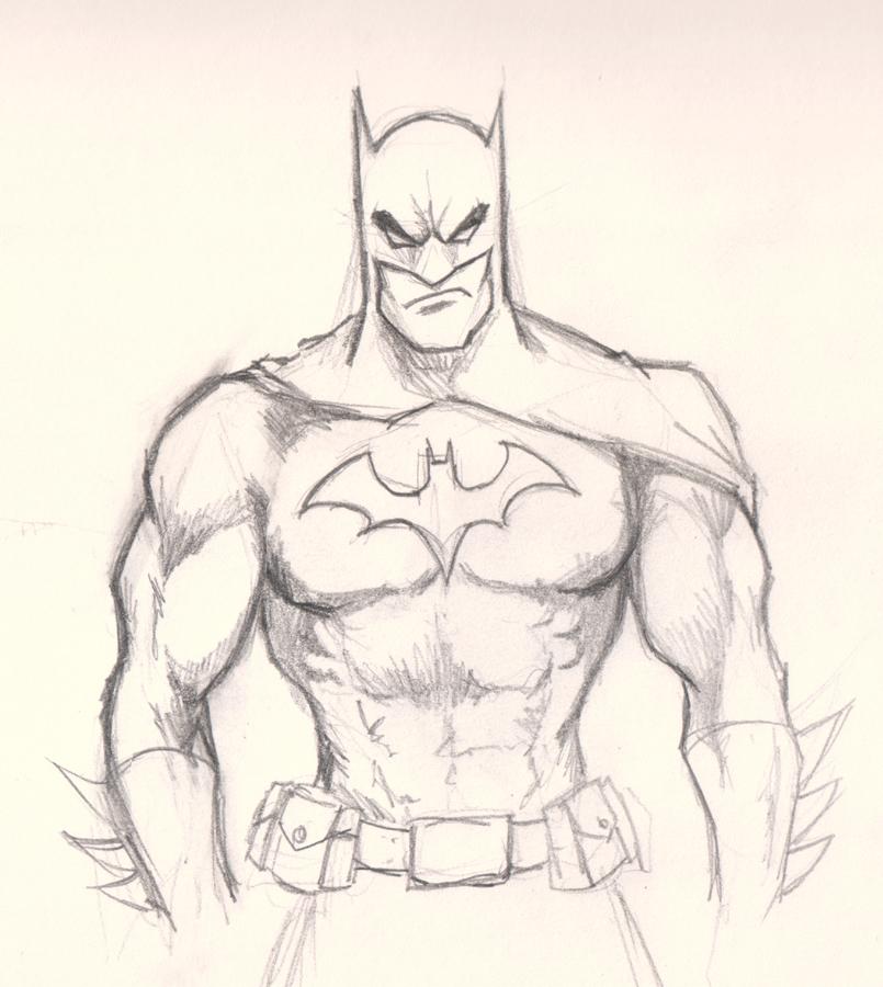 How To Draw Batman The Dark Knight Drawing Tutorials