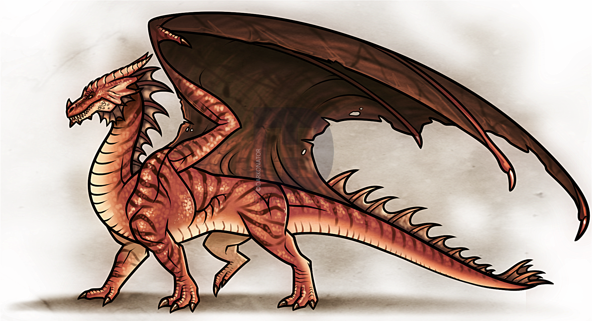 Картинка дракона рисунок