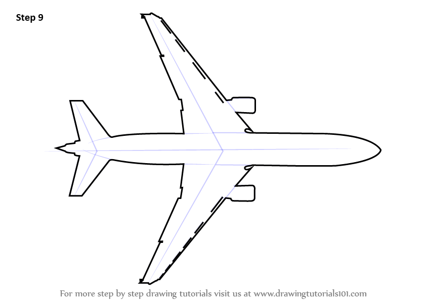 How To Draw An Airplane Quick Tutorials You Can Try
