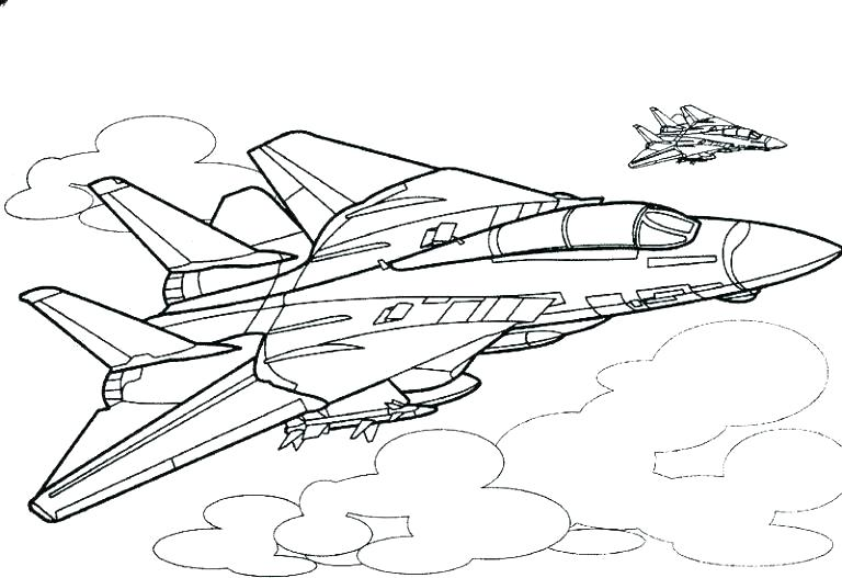 Free Printable Airplane Coloring Pages For Kids | 527x768