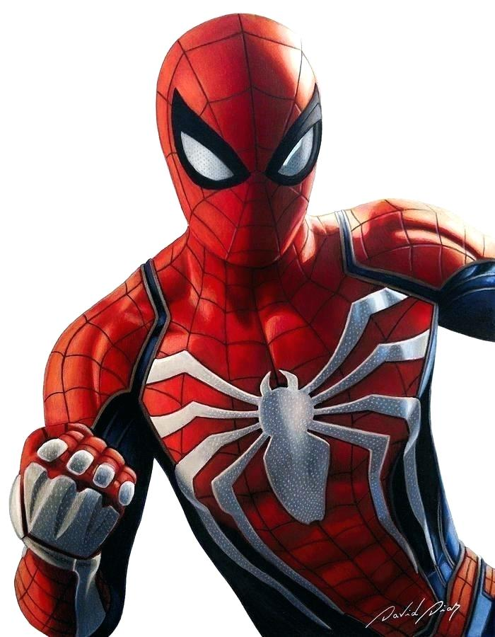 How To Draw Spiderman Realistic Or Comic Style Tutorials