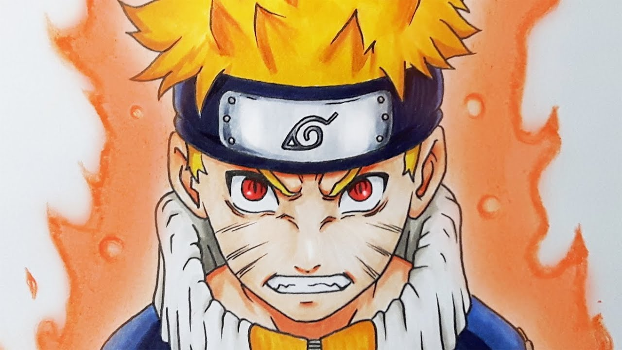 How To Draw Naruto With Step By Step Drawing Tutorials