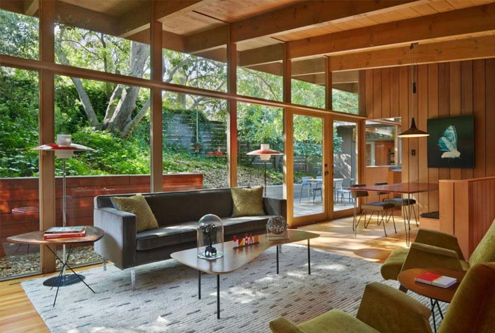 Mid Century Modern Renovation Addition By Koch Architects