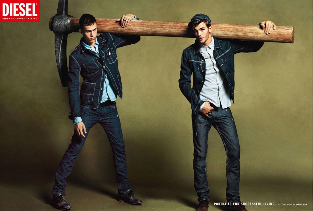 Diesel Jeans Advertising Campaigns - 45 prints