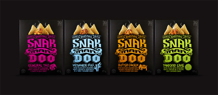 Bridgemark-Snakmandoo-1 Intelligently Made Food Packaging Ideas (100+ Examples)