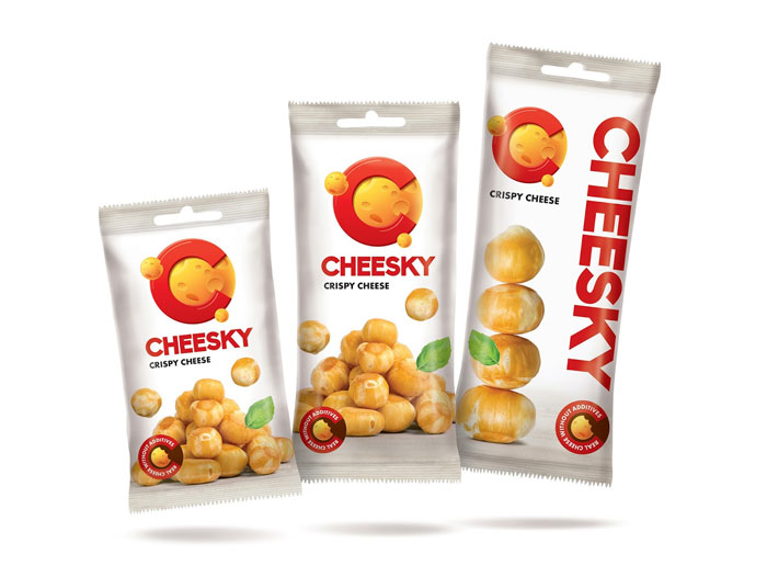 Cheesky-4 Intelligently Made Food Packaging Ideas (100+ Examples)
