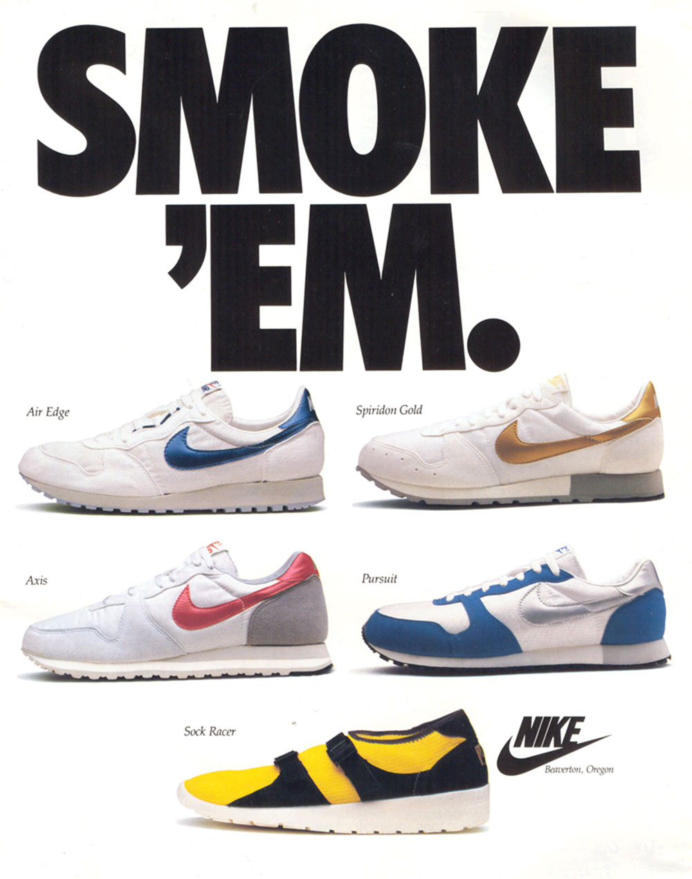 Nike-Print-Ads-2 Nike Print Magazine Ads That Boosted The Brand's Popularity