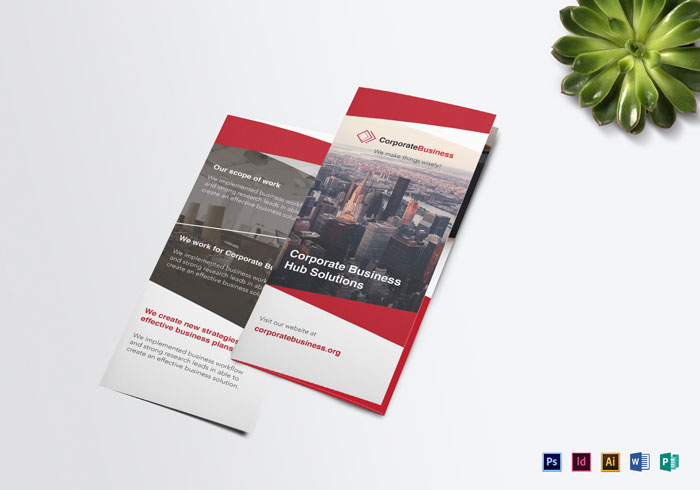 Brochure design inspiration 64 modern brochure examples tri fold corporate business brochure template brochure design inspiration 64 wajeb Gallery