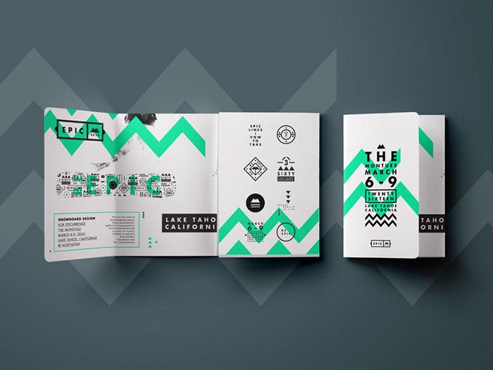 Brochure design inspiration 64 modern brochure examples for Brochure design inspiration