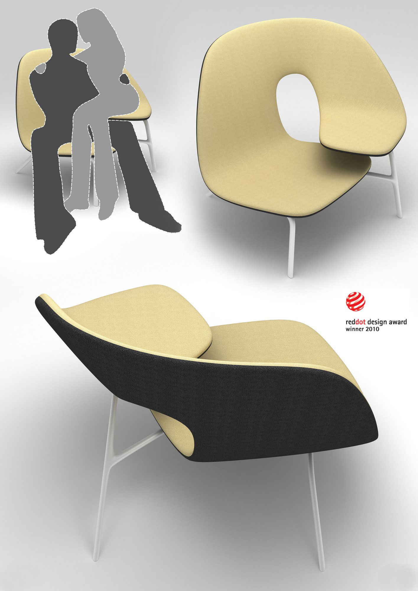 The hug chair by ilian milinov design your way for Products to design