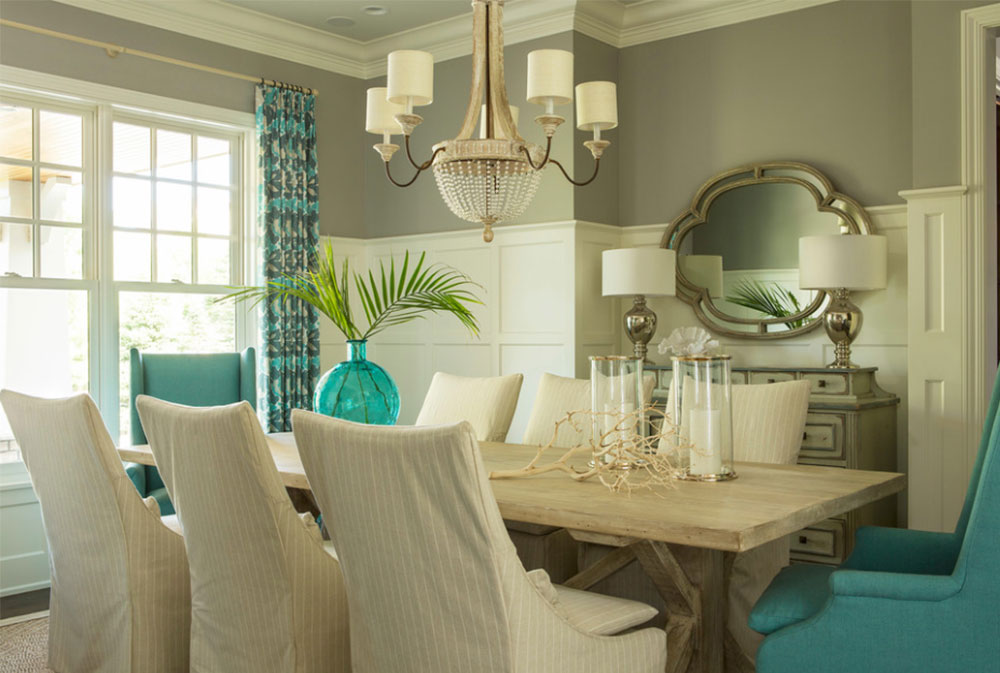 Tiffany style dining room