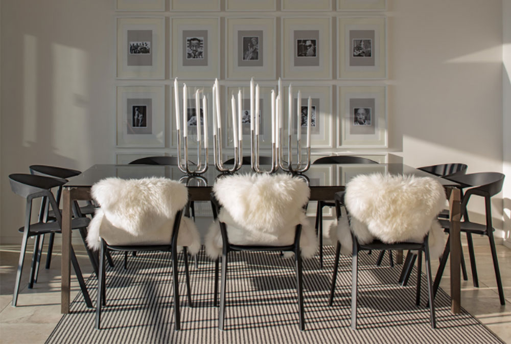 dining room ideas: tables, chairs and decor (53 pictures)