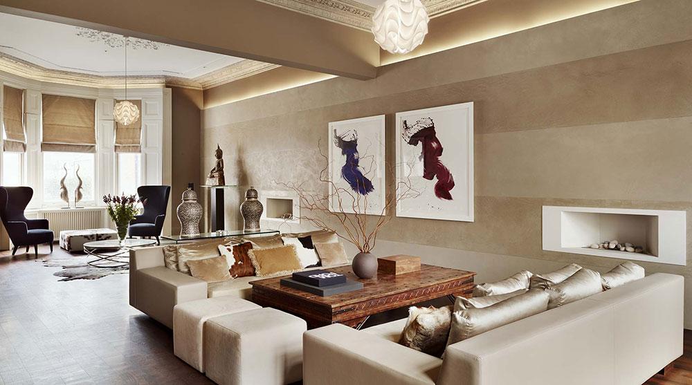 Living room interior design ideas (65 room designs), samples of.