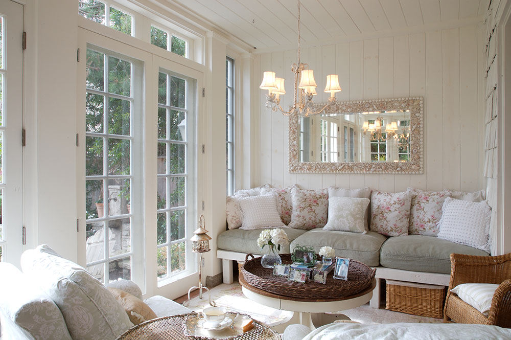 Superb interior design examples for inspiration 64 photos - Shabby look wohnzimmer ...