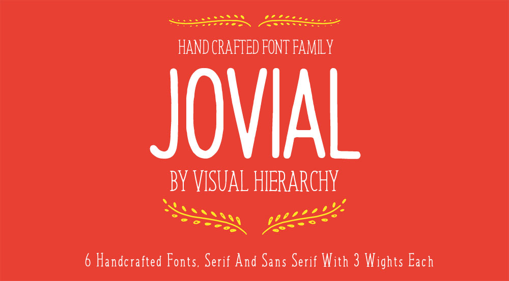 Jovial Font Family