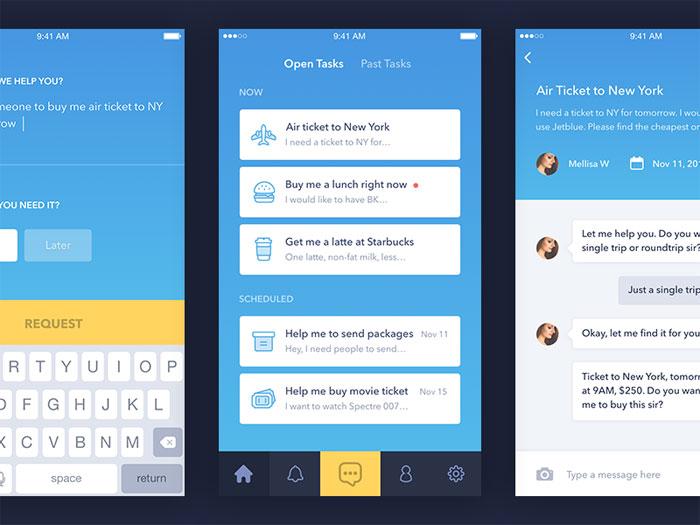 Tab Bars In Mobile UI Design: Showcase of Impressive App Designs