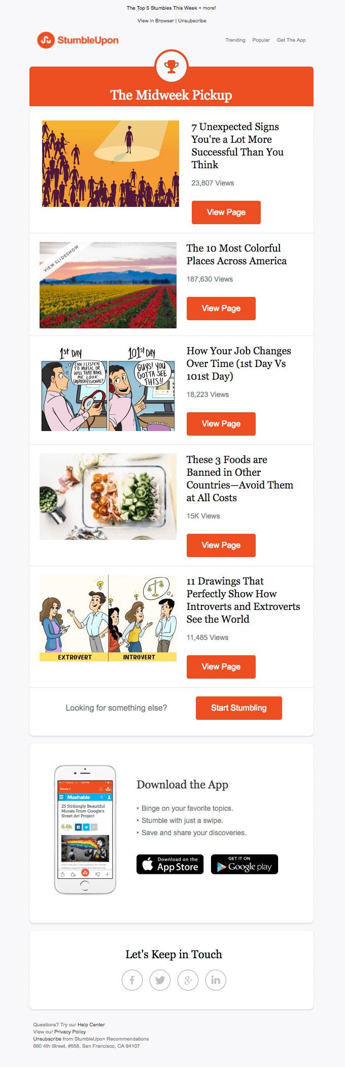 Galerry design ideas newsletter