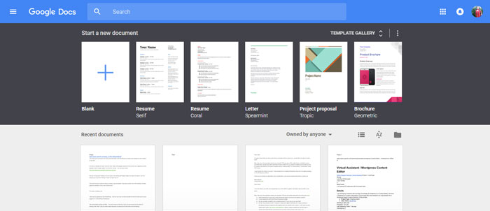 Google-Docs-https___docs.google Evernote alternatives - 14 competitors to use instead