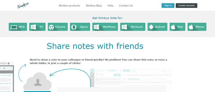 Nimbus-Nimbus-Note-https___nimbus.everhelper.me_note Evernote alternatives - 14 competitors to use instead