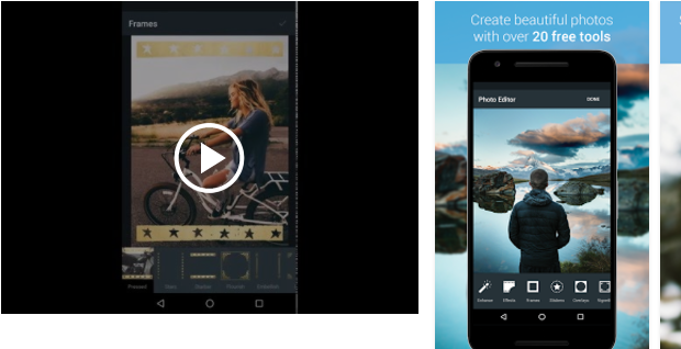 Aviary Best Android photo editor apps to modify your photos with