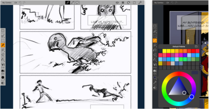Scribble Drawing App : Best drawing apps for ipad