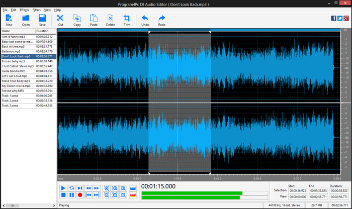 DJ-Audio-Editor Audio editing software: The best free and premium options