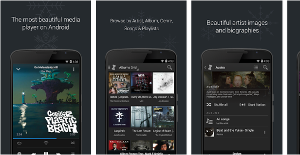 Doubletwist-Cloudplayer Best Android music player apps to listen to music on them