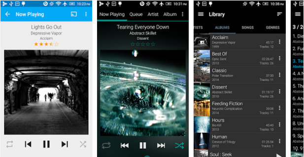 GoneMAD-Music-Player Best Android music player apps to listen to music on them