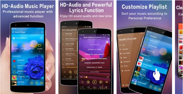 TTPod-Music-Player Best Android music player apps to listen to music on them