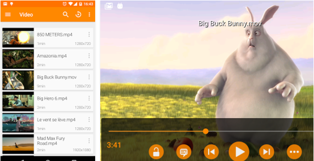 VLC Best Android music player apps to listen to music on them