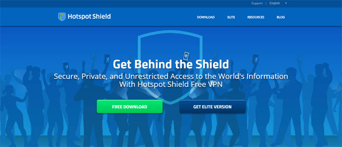 hotspotshield.com_ Top free VPN software and services you should start using