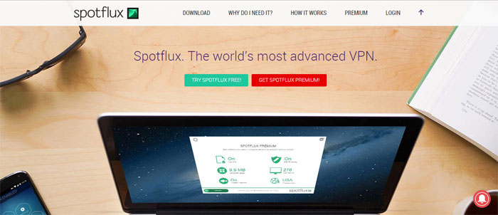 spotflux.com_ Top free VPN software and services you should start using