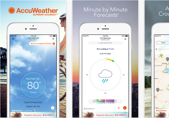 best free weather app for iphone best iphone weather apps with accurate forecast 18304