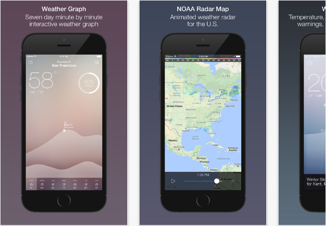 Weather Map Apps.Best Iphone Weather Apps With Accurate Forecast