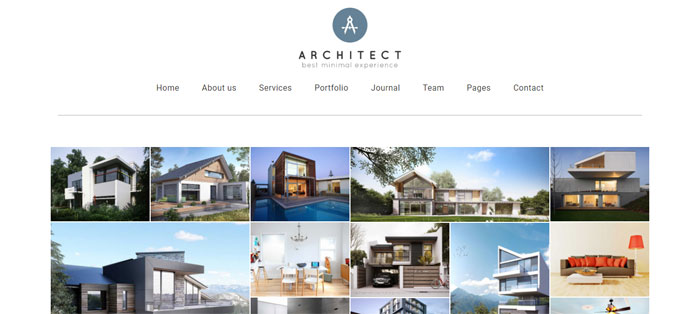 Architecture wordpress themes to design an architect 39 s website for Architecture wordpress