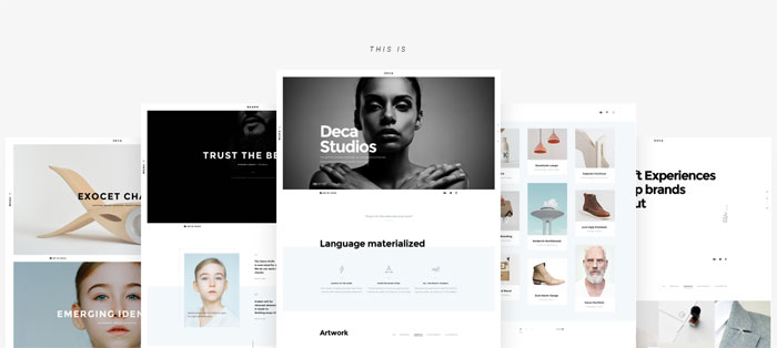Deca Architecture WordPress Themes To Design An Architect's Website