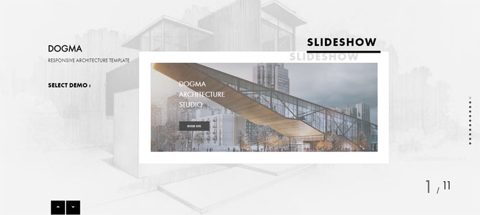 Dogma Architecture WordPress Themes To Design An Architect's Website