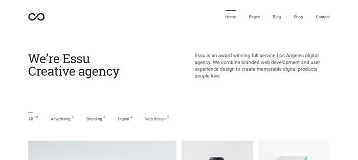 Essu Architecture WordPress Themes To Design An Architect's Website