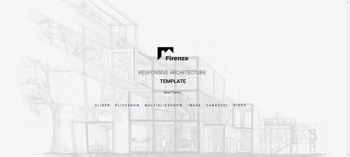 Firenze Architecture WordPress Themes To Design An Architect's Website