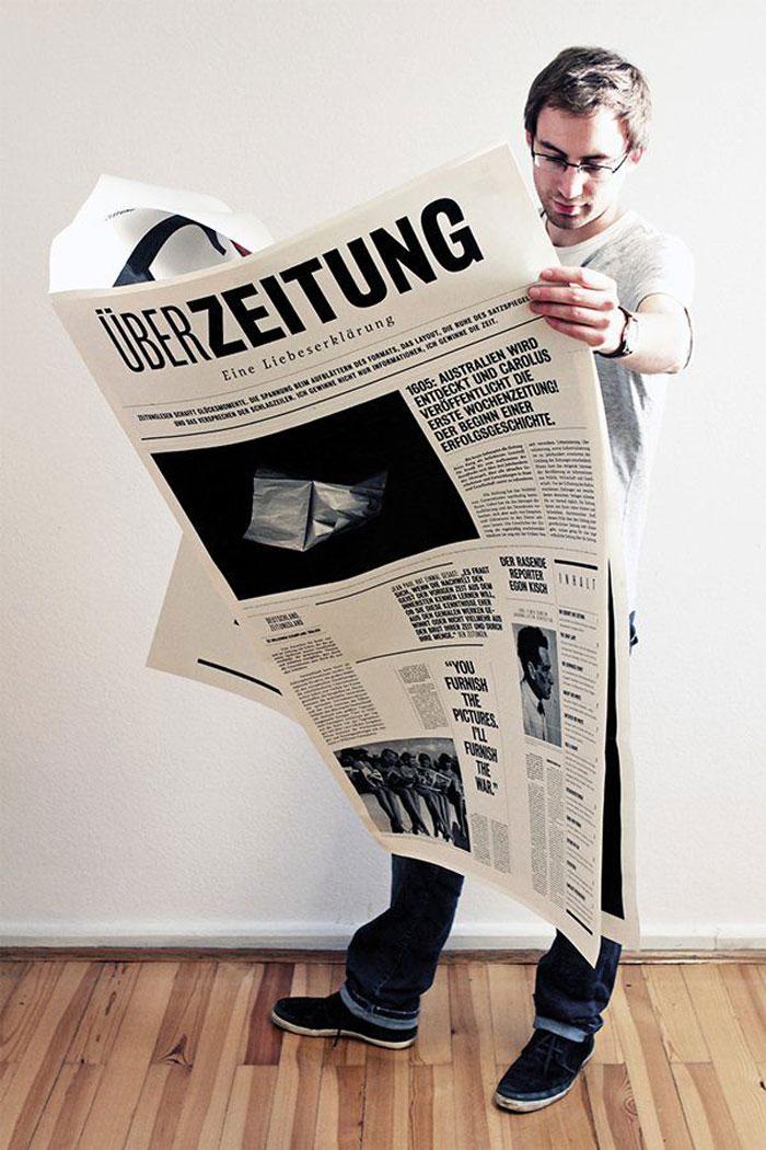 Дизайн газеты картинками