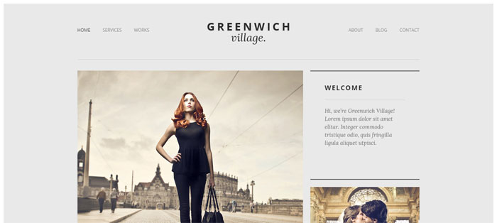 Greenwich-Village Architecture WordPress Themes To Design An Architect's Website